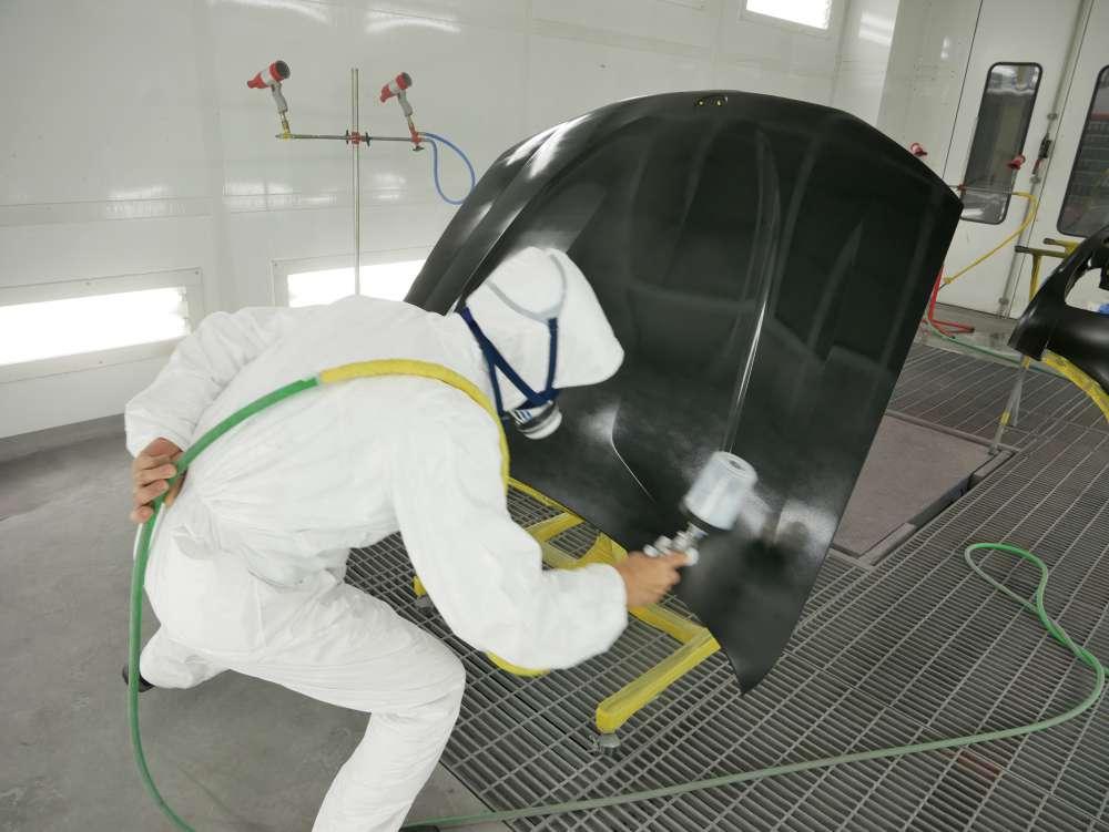 BMW X3 ALPINA ボディ施工