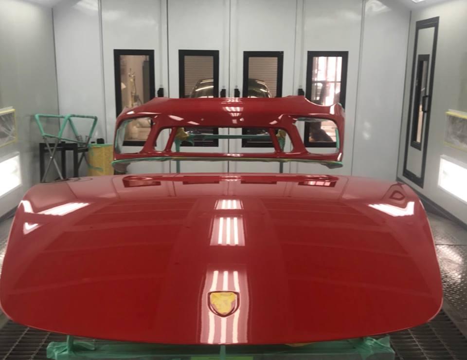 ポルシェ911 GT3 ボディ&HPF施工