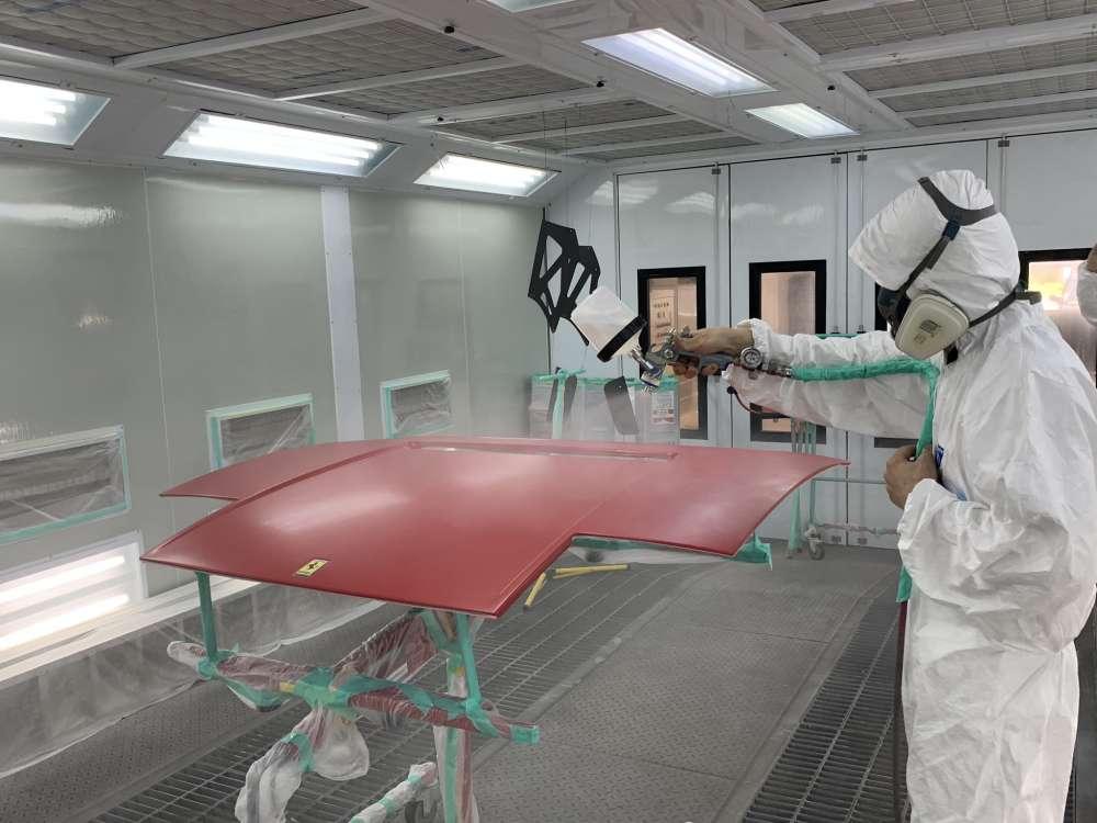 ペイントプロテクション塗装を繰り返し16回・16層ペイント致します。